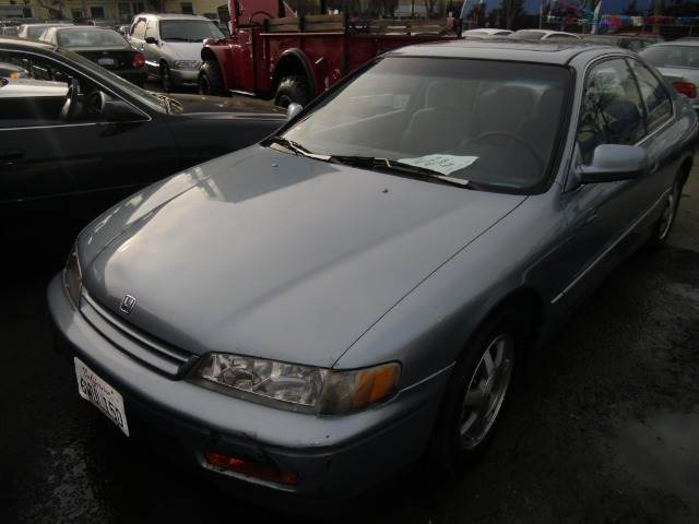 1994 HONDA ACCORD EX COUPE blue abs brakesair conditioningalloy wheelsanti-brake system 4-whe