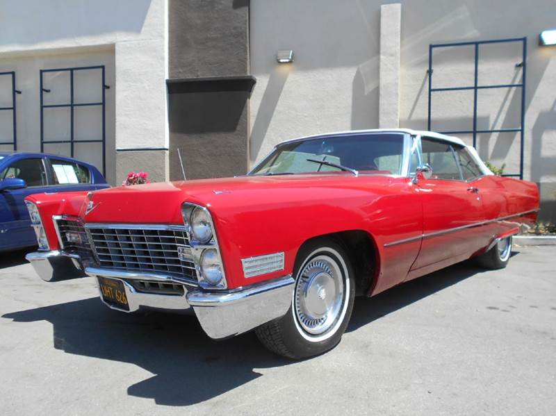 1967 CADILLAC DEVILLE red 48071 miles