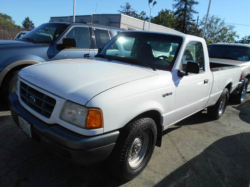 2001 FORD RANGER EDGE PLUS 2DR STANDARD CAB 2WD F white abs - 4-wheel anti-theft system - alarm