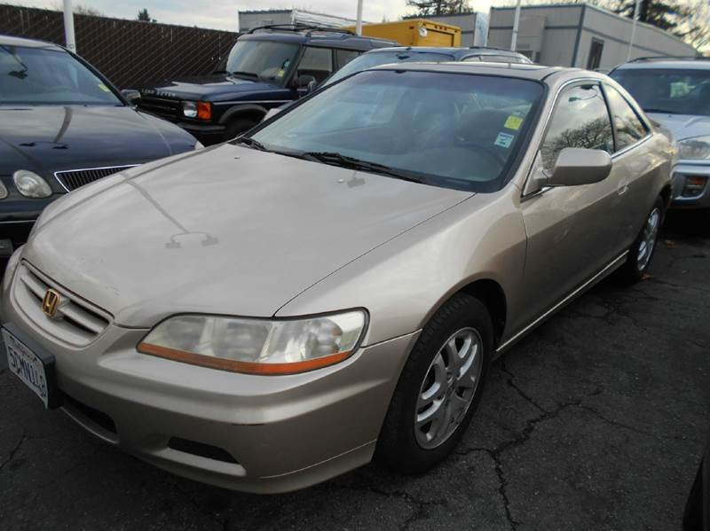 2001 HONDA ACCORD EX V6 2DR COUPE gold abs - 4-wheel anti-theft system - alarm cassette cd cha