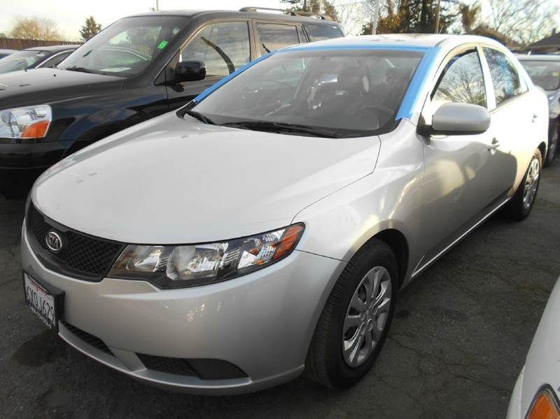 2010 KIA FORTE LX 4DR SEDAN 4A silver abs - 4-wheel active head restraints - dual front airbag