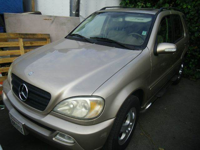 2002 MERCEDES-BENZ M-CLASS ML320 AWD 4MATIC 4DR SUV gold abs - 4-wheel alloy wheels anti-theft