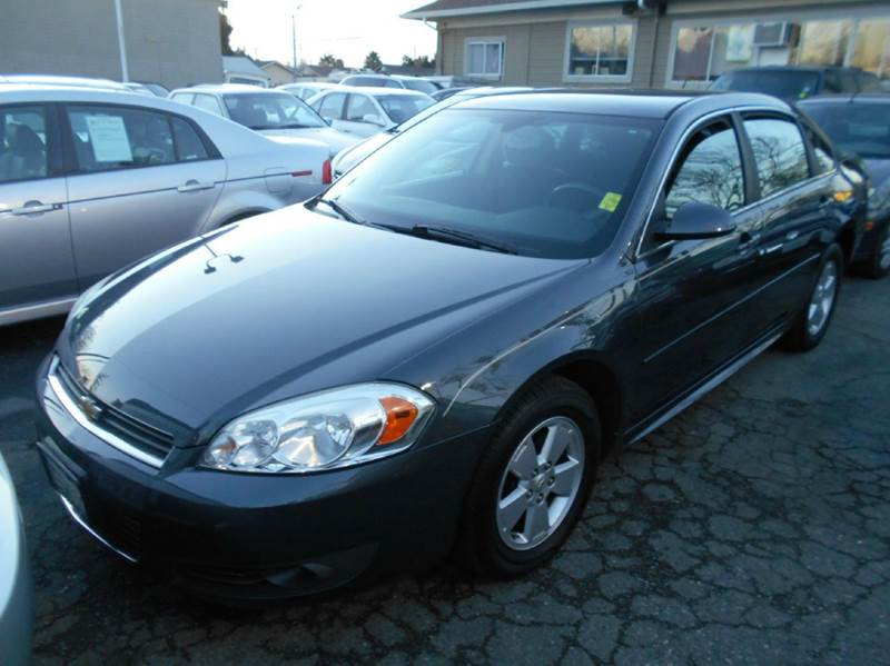 2011 CHEVROLET IMPALA LT FLEET 4DR SEDAN W2FL charcoal 2-stage unlocking doors abs - 4-wheel a