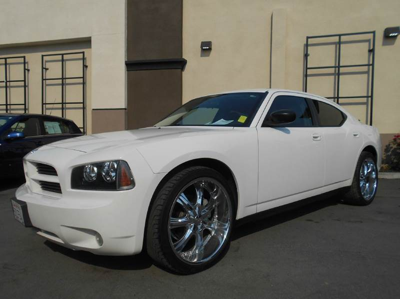 2007 DODGE CHARGER BASE 4DR SEDAN white 2-stage unlocking doors airbag deactivation - occupant s