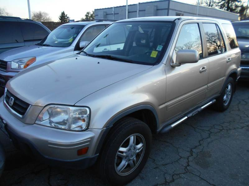 2001 HONDA CR-V SE AWD 4DR SUV gold abs - 4-wheel cassette clock cruise control exterior entr