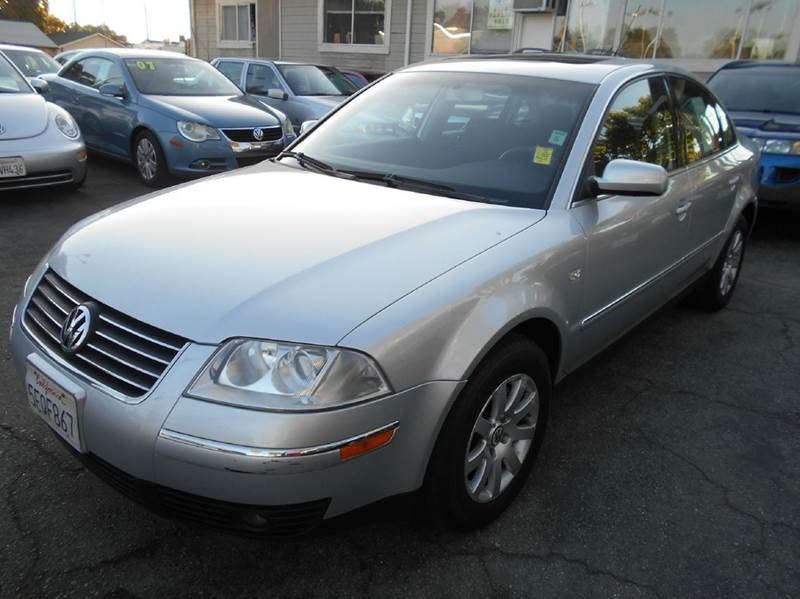2003 VOLKSWAGEN PASSAT GLS 18T 4DR TURBO SEDAN silver abs - 4-wheel anti-theft system - alarm