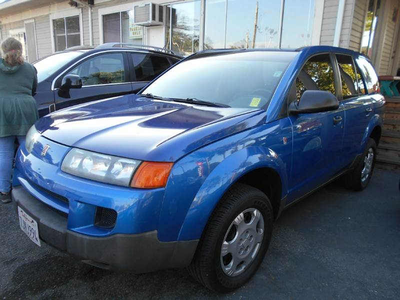 2003 SATURN VUE BASE FWD 4DR SUV blue center console daytime running lights exterior entry ligh