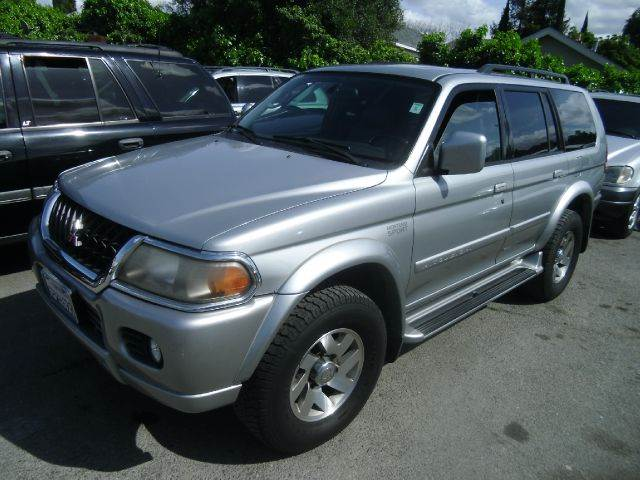 2001 MITSUBISHI MONTERO SPORT LIMITED LTD 2WD 4DR SUV silver abs - 4-wheel anti-theft system - a