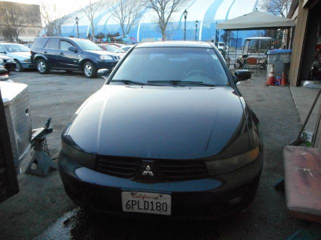 2003 MITSUBISHI GALANT GTZ V6 4DR SEDAN blue abs - 4-wheel anti-theft system - alarm center con