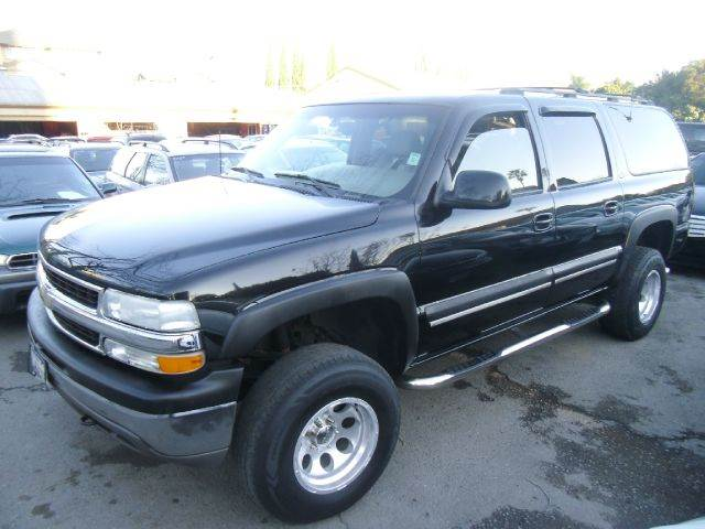 2001 CHEVROLET SUBURBAN 1500 LT 4WD 4DR SUV black abs - 4-wheel anti-theft system - alarm axle