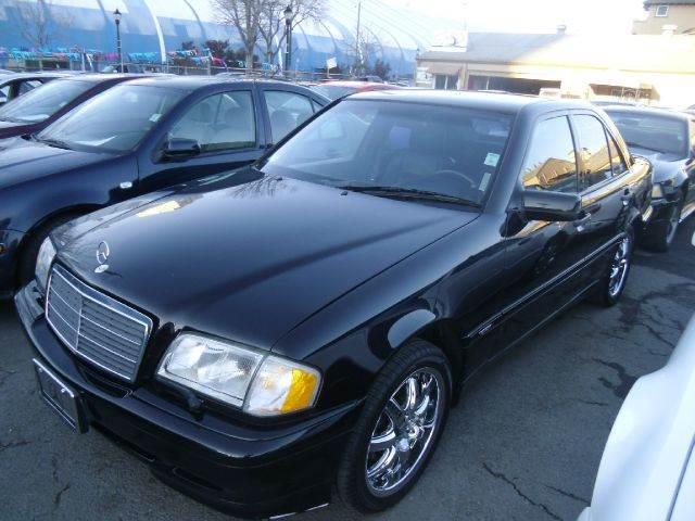 1999 MERCEDES-BENZ C-CLASS C280 4DR SEDAN black abs - 4-wheel antenna type - power anti-theft sy