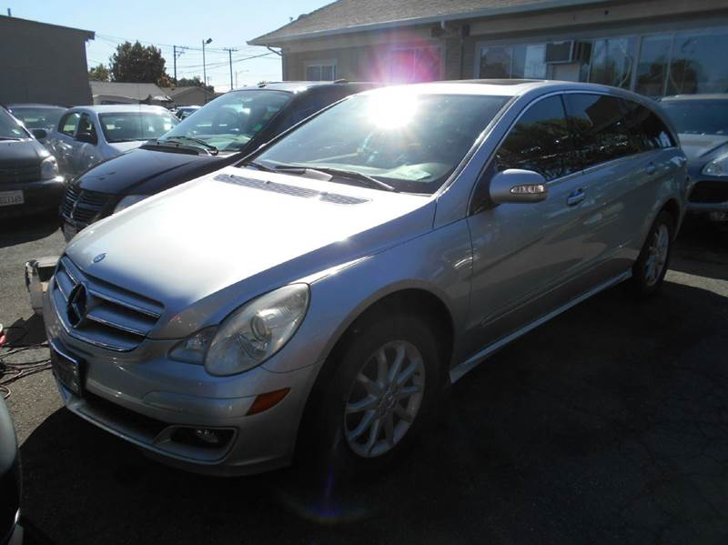 2007 MERCEDES-BENZ R-CLASS R 350 AWD 4MATIC 4DR WAGON silver 2-stage unlocking doors 4wd type -