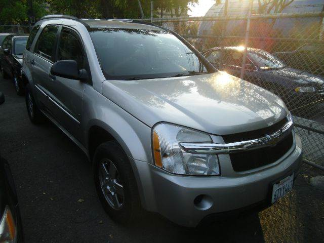 2008 CHEVROLET EQUINOX LS AWD 4DR SUV silver 2-stage unlocking - remote abs - 4-wheel adjustable