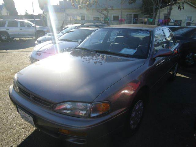 1996 TOYOTA CAMRY LE gray air conditioninganti-brake system non-abs  4-wheel absbody style se