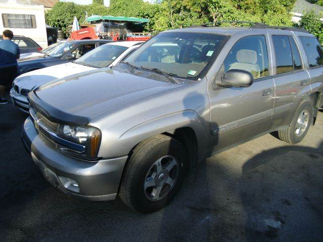 2002 CHEVROLET TRAILBLAZER LT 4WD silver 4wdawdabs brakesair conditioningalloy wheelsamfm ra