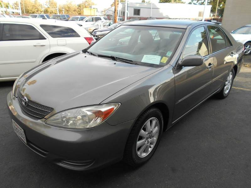 2002 TOYOTA CAMRY XLE 4DR SEDAN gray 16 inch wheels abs - 4-wheel anti-theft system - alarm ca