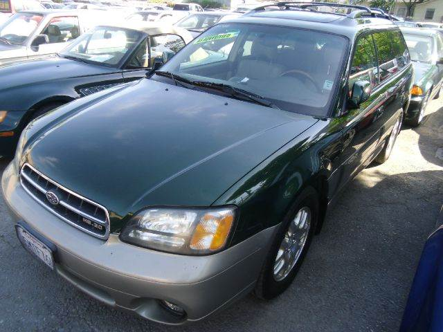 2002 SUBARU OUTBACK LL BEAN EDITION AWD 4DR WAGON green 16 inch wheels abs - 4-wheel alloy whe
