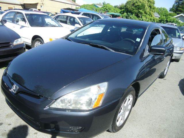 2003 HONDA ACCORD EX V-6 2DR COUPE charcoal 17 inch wheels abs - 4-wheel alloy wheels anti-thef
