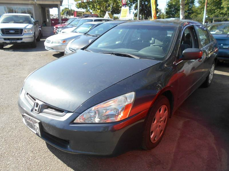 2003 HONDA ACCORD LX V-6 4DR SEDAN gray abs - 4-wheel anti-theft system - alarm center console