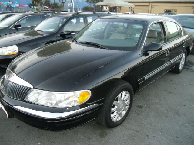 2000 LINCOLN CONTINENTAL black abs brakesair conditioningalloy wheelsamfm radioanti-brake sys