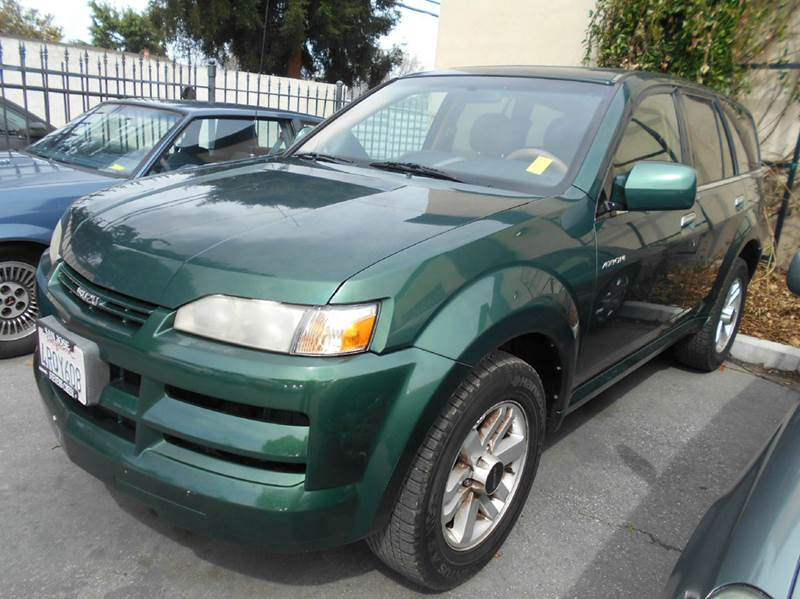 2002 ISUZU AXIOM green 0 miles VIN 11111111111115555
