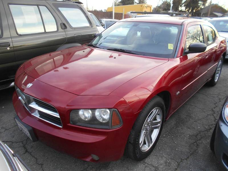 2006 DODGE CHARGER SE 4DR SEDAN red abs - 4-wheel airbag deactivation - occupant sensing passeng