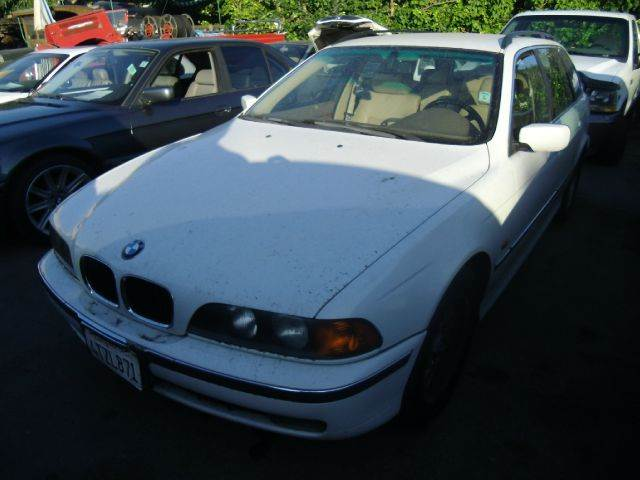 1999 BMW 5 SERIES 528IT white abs brakesair conditioningalloy wheelsamfm radioanti-brake sys