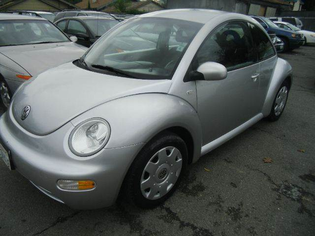 2001 VOLKSWAGEN NEW BEETLE GL 2DR HATCHBACK silver abs - 4-wheel anti-theft system - alarm casse