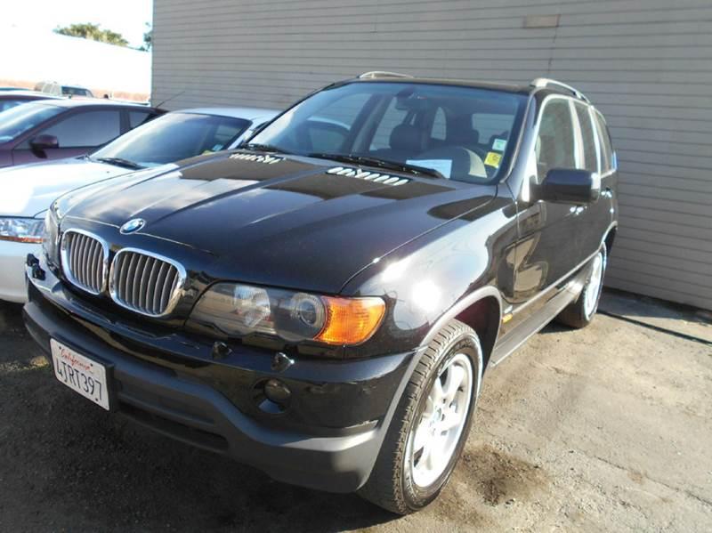 2001 BMW X5 44I AWD 4DR SUV black abs - 4-wheel air suspension - rear anti-theft system - alar