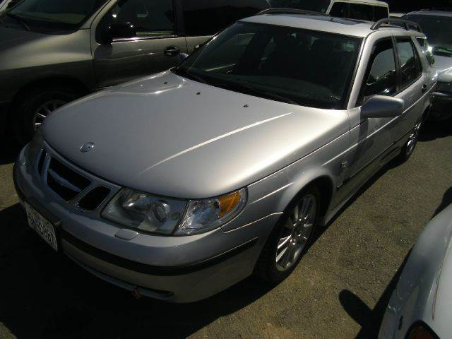 2002 SAAB 9-5 AERO silver 17 inch wheels 4-speed automatic transmission abs - 4-wheel alloy whe