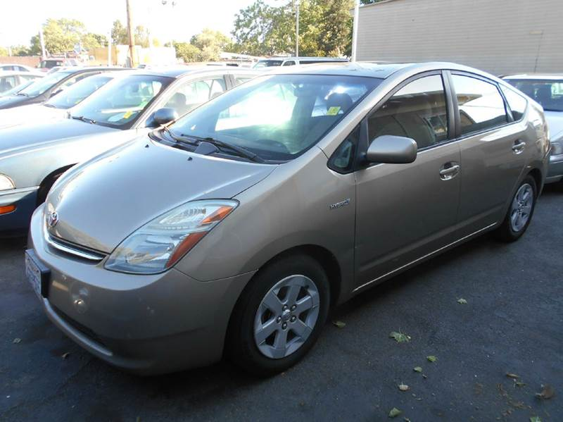 2007 TOYOTA PRIUS BASE 4DR HATCHBACK gold 2-stage unlocking doors abs - 4-wheel air filtration