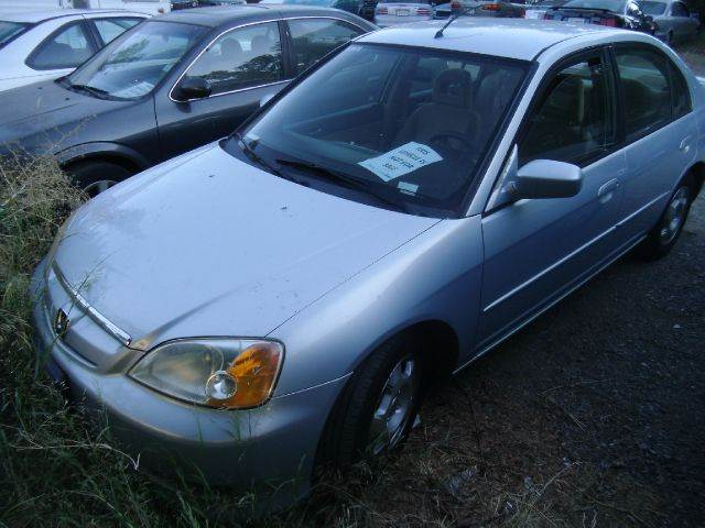 2003 HONDA CIVIC HYBRID 4DR SEDAN blue abs - 4-wheel alloy wheels clock cruise control electri