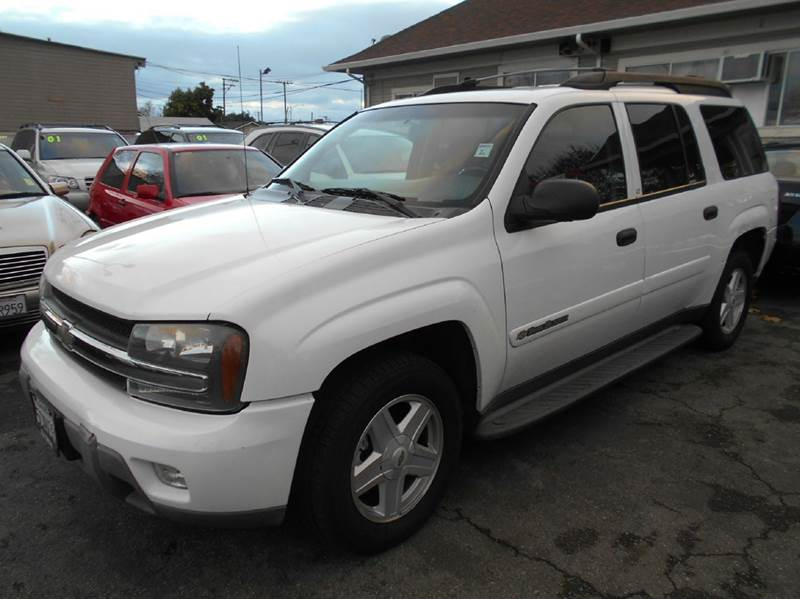 2003 CHEVROLET TRAILBLAZER EXT LT 4DR SUV white abs - 4-wheel anti-theft system - alarm axle ra