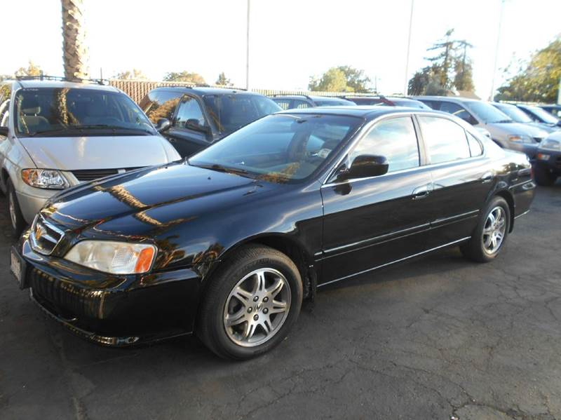 1999 ACURA TL 32 4DR SEDAN black abs - 4-wheel anti-theft system - alarm cassette center cons
