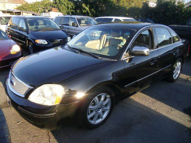 2006 FORD FIVE HUNDRED LIMITED 4DR SEDAN black abs - 4-wheel airbag deactivation - occupant sens