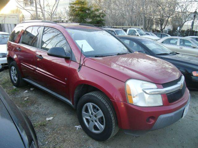 2006 CHEVROLET EQUINOX LS 4DR SUV red abs - 4-wheel antenna type anti-theft system - alarm ant