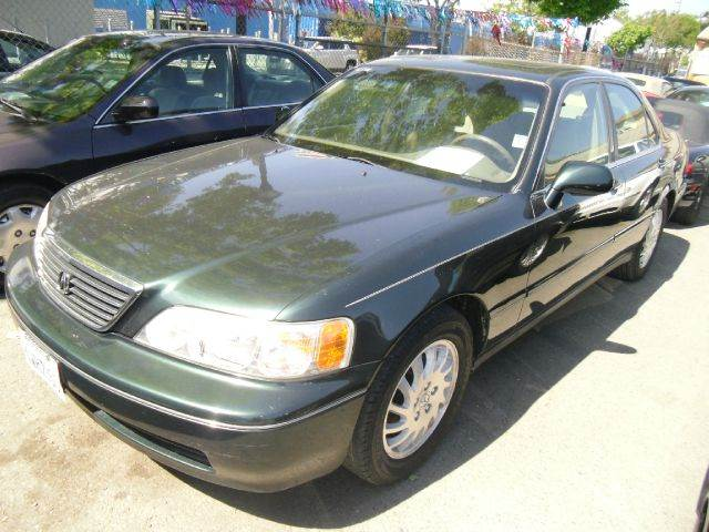 1998 ACURA RL 35 PREMIUM green 16 inch wheels abs - 4-wheel alloy wheels antenna type - power