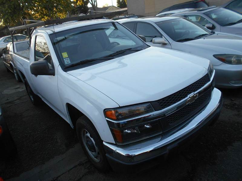 2005 CHEVROLET COLORADO 2DR STANDARD CAB RWD SB white abs - 4-wheel axle ratio - 342 clock da