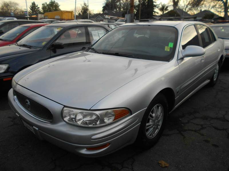 2003 BUICK LESABRE CUSTOM 4DR SEDAN silver abs - 4-wheel air suspension - rear center console
