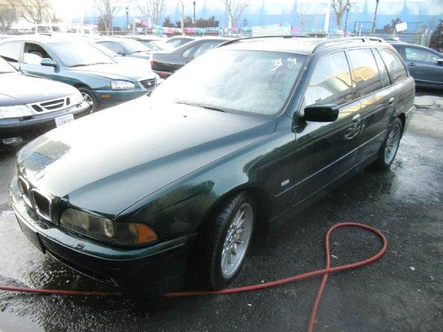 2002 BMW 5 SERIES 540I 4DR SPORT WAGON green abs - 4-wheel anti-theft system - alarm center con