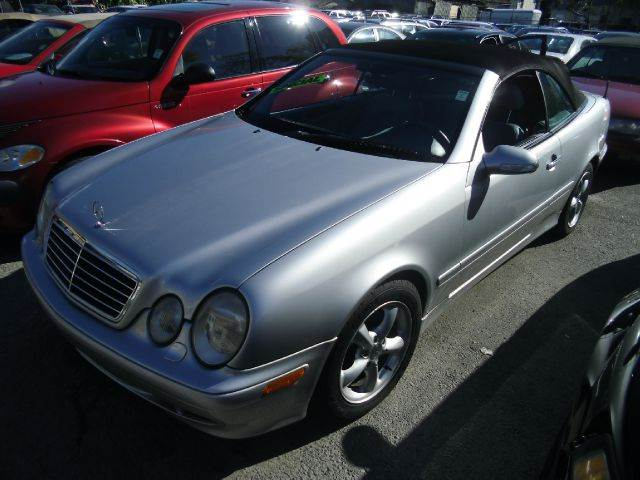 2002 MERCEDES-BENZ CLK-CLASS CLK320 CABRIOLET silver abs brakesair conditioningalloy wheelsamf
