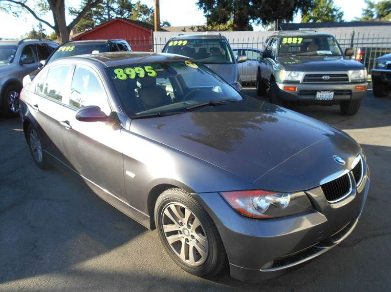 2006 BMW 3 SERIES 325I 4DR SEDAN charcoal abs - 4-wheel air filtration airbag deactivation - oc