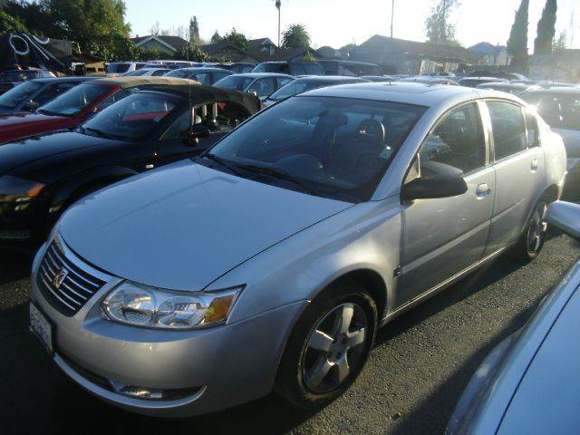 2006 SATURN ION 3 4DR SEDAN silver air filtration airbag deactivation - occupant sensing passeng