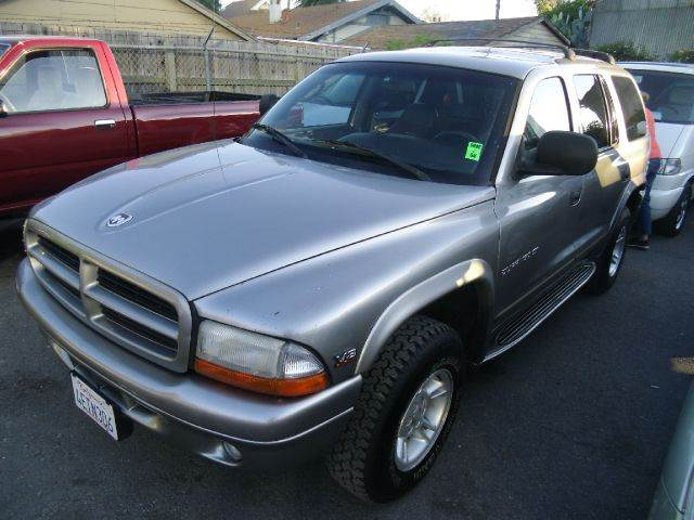 1999 DODGE DURANGO 4WD silver 4wdawdabs brakesair conditioningalloy wheelsamfm radioanti-br