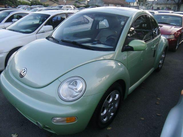 2002 VOLKSWAGEN NEW BEETLE GLS 2DR HATCHBACK green 16 inch wheels abs - 4-wheel anti-theft syste