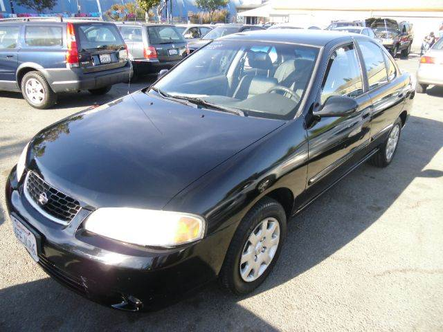 2001 NISSAN SENTRA XE black anti-brake system non-abs  4-wheel absbody style sedan 4-drcargo