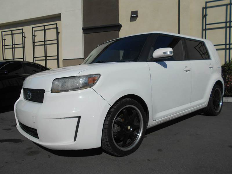 2008 SCION XB BASE 4DR WAGON 5M white abs - 4-wheel airbag deactivation - occupant sensing passe