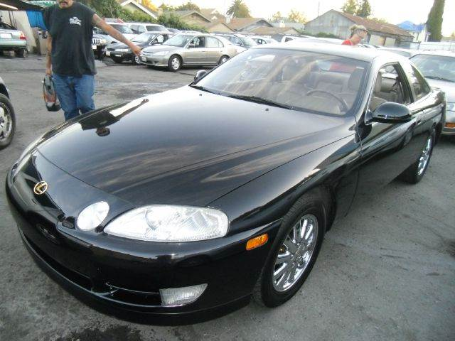 1994 LEXUS SC 400 SC 400 black abs brakesair conditioningalloy wheelsanti-brake system 4-wheel
