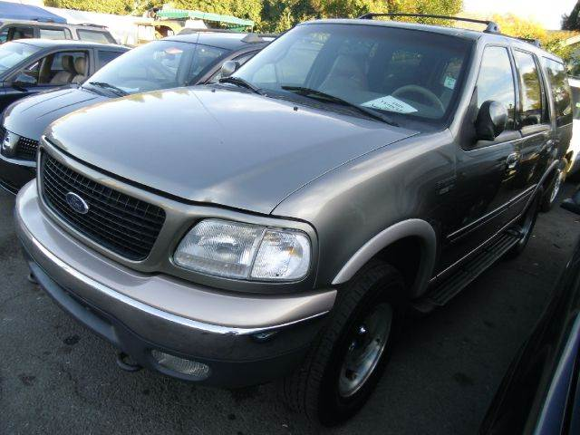 1999 FORD EXPEDITION EDDIE BAUER 4WD green 4wdawdabs brakesair conditioningalloy wheelsamfm