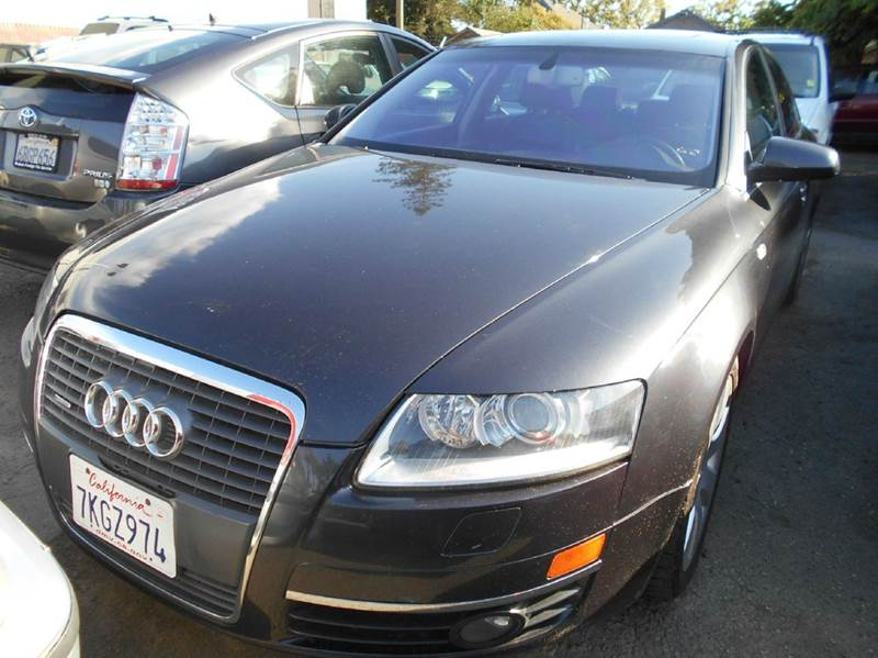 2005 AUDI A6 32 QUATTRO AWD 4DR SEDAN charcoal abs - 4-wheel anti-theft system - alarm cd chan